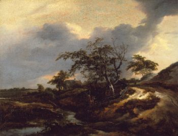 Landscape with Dunes | Jacob van Ruisdael | oil painting