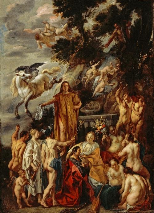 Allegory of the Poet   Jacob Jordaens   oil painting