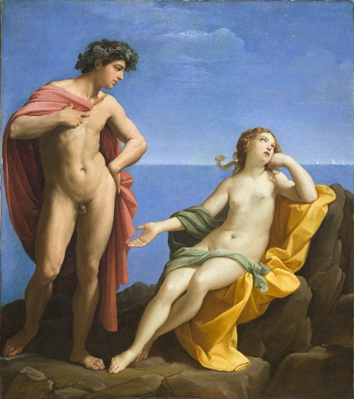 Bacchus and Ariadne | Guido Reni | oil painting