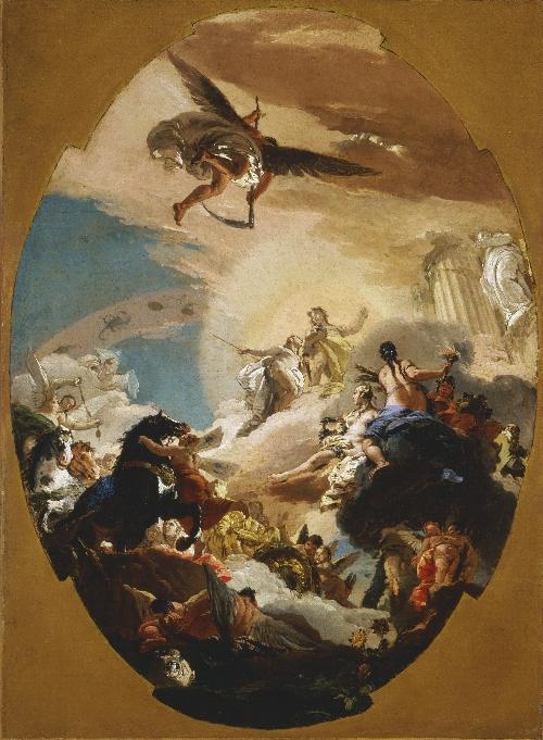 Apollo and Phaethon | Giovanni Battista Tiepolo | oil painting