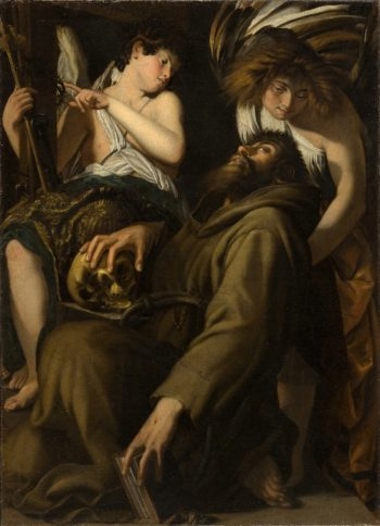 The Ecstasy of Saint Francis | Giovanni Baglione | oil painting
