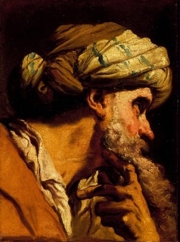 Study of an Oriental Head for The Marriage at Cana | Gandolfi Gaetano | oil painting