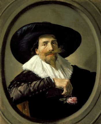 Portrait of a Man (Pieter Tjarck) | Frans Hals | oil painting