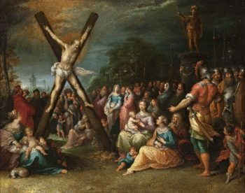 The Crucifixion of St. Andrew | Frans Francken the Younger | oil painting