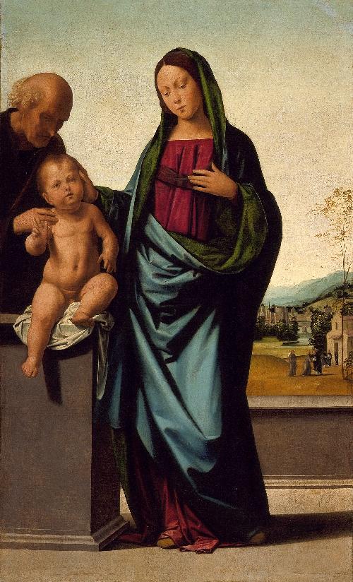 Holy Family | Fra Bartolommeo | oil painting