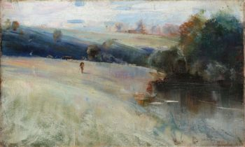 Australian Landscape 1889 90 | Charles Conder | oil painting