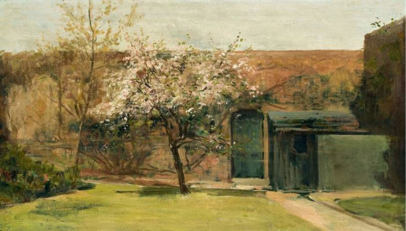 Blossoming Chantemesle 1893   Charles Conder   oil painting