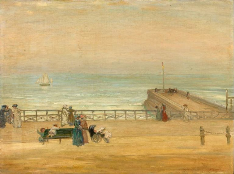 Brighton 1905 | Charles Conder | oil painting