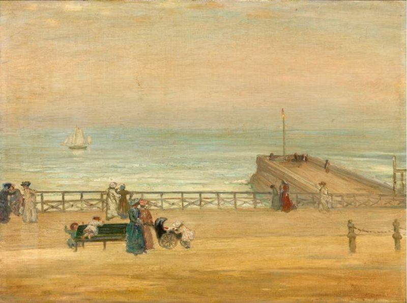 Brighton 1905 | Charles Conder | oil painting