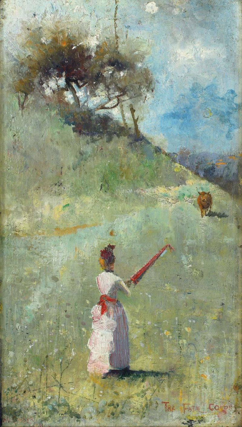 The Fatal Colors 1888   Charles Conder   oil painting