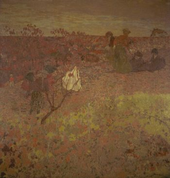 Walking in the Vineyard | Edouard Vuillard | oil painting