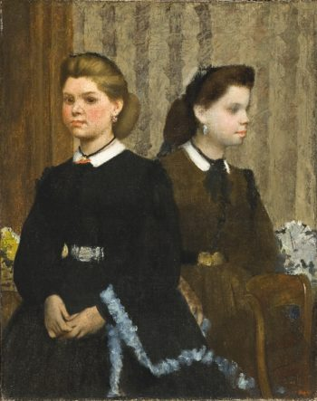 The Bellelli Sisters (Giovanna and Giuliana Bellelli) | Edgar Degas | oil painting