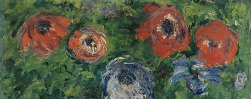 Anemonies 1885 | Claude Monet | oil painting