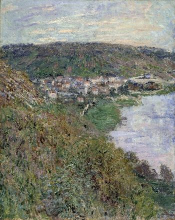 View of Vetheuil | Claude Monet | oil painting