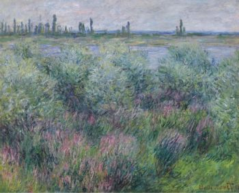 Banks of the Seine at Vetheuil 1881 | Claude Monet | oil painting