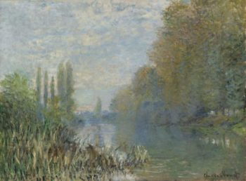 Banks of the Seine in Autumn | Claude Monet | oil painting