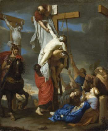 The Descent from the Cross | Charles Le Brun | oil painting