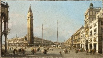 Piazza San Marco Looking South and West | called Canaletto Antonio Canal | oil painting