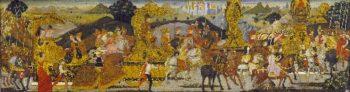 The Triumph of Alexander | Bernardo Rosselli | oil painting