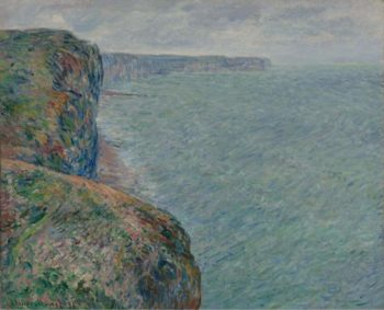 View to the Sea from the Cliffs 1881 | Claude Monet | oil painting