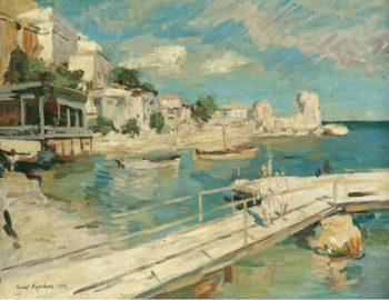 Black Sea Coastal Scene 1914 | Constantin Korovin | oil painting