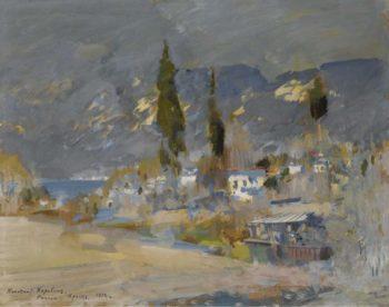 Crimean Landscape 1912 | Constantin Korovin | oil painting