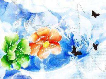Flower Painting No.25 | Ocean's Bridge Artist | oil painting