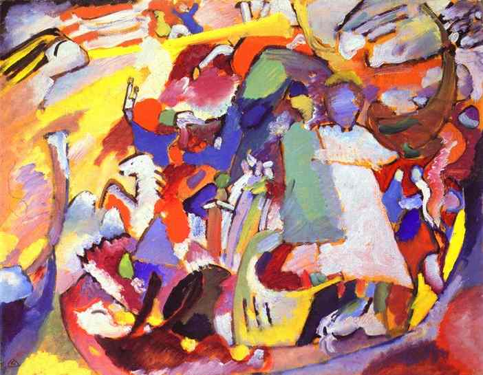 all saints I 1911 | Wassily Kandinsky | oil painting