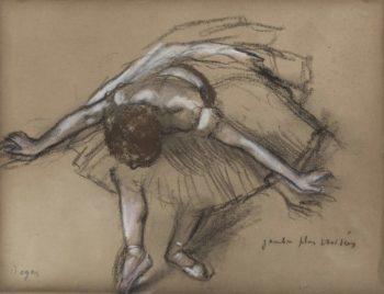Dancer | Edgar Degas | oil painting