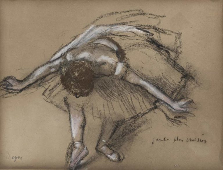 Dancer | Edgar Degas | oil painting
