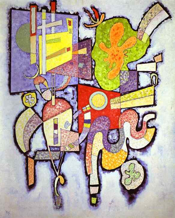 complex simple 1939 | Wassily Kandinsky | oil painting