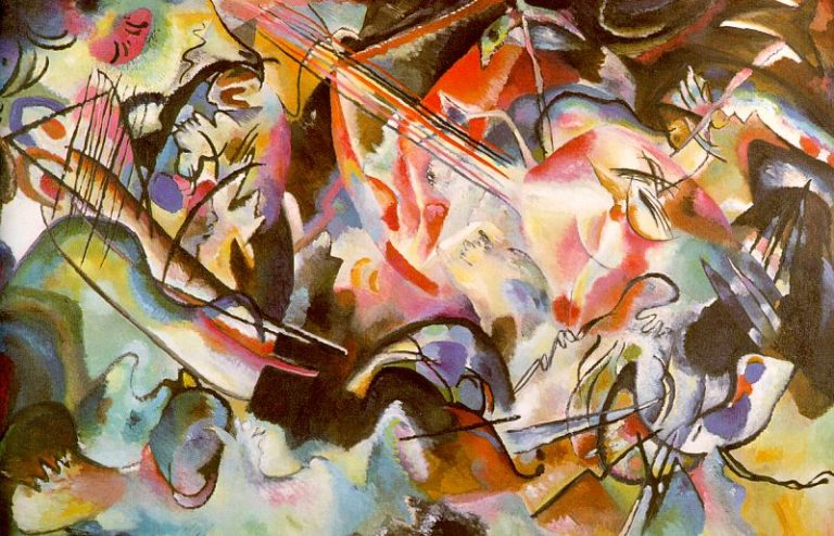 Composition 44 | Wassily Kandinsky | oil painting