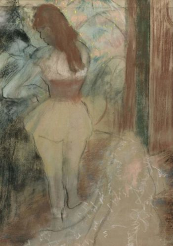 Dressing Dancer 1889 | Edgar Degas | oil painting