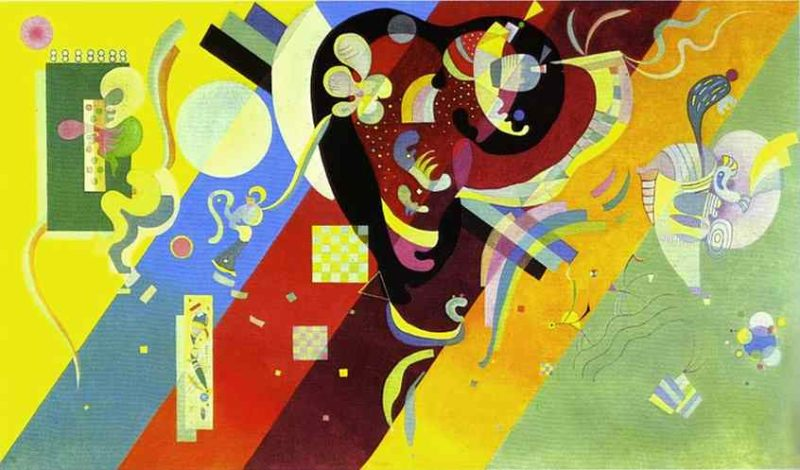 composition LX 1936 | Wassily Kandinsky | oil painting