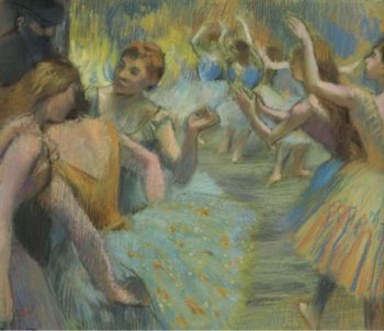 The Ballet 1885 | Edgar Degas | oil painting