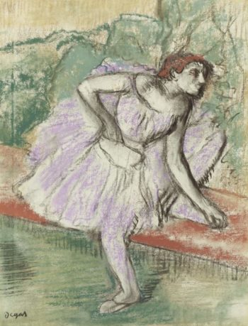 The Dancer in Violet 1895 98 | Edgar Degas | oil painting
