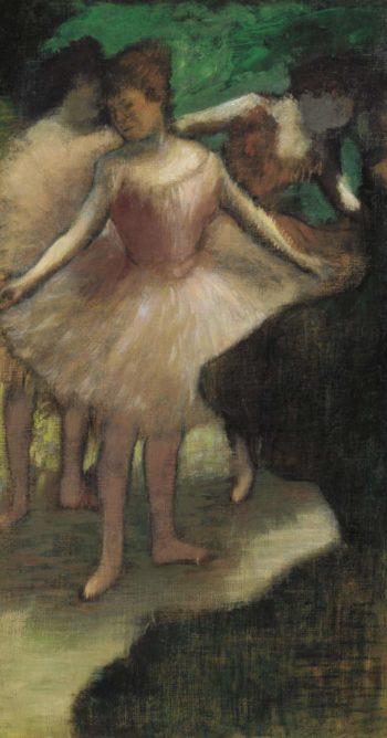 Three Dancers in Pink 1886 | Edgar degas | oil painting