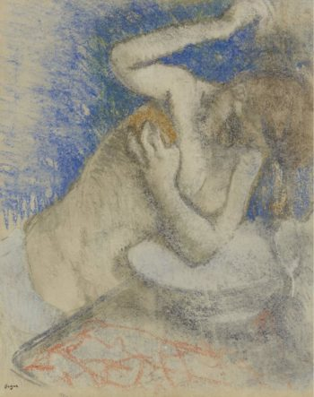 Woman at Her Toilet 1892 | Edgar Degas | oil painting