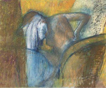 Woman Drying Hair 1905 10 | Edgar Degas | oil painting