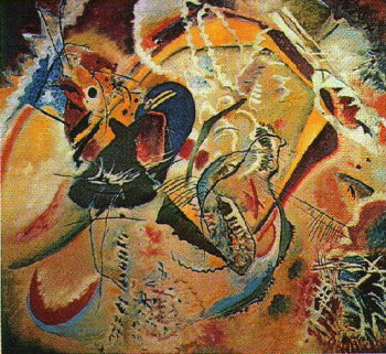 Improvisation 35 | Wassily Kandinsky | oil painting