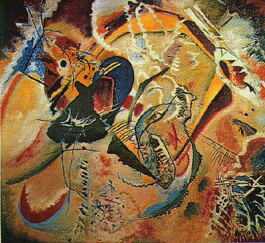 Improvisation 35 | Wassily Kandinsky | oil painting