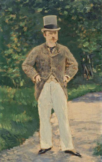 Portrait of Monsieur Brun 1880 | Edouard Manet | oil painting