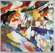 Landscape with Rain | Wassily Kandinsky | oil painting
