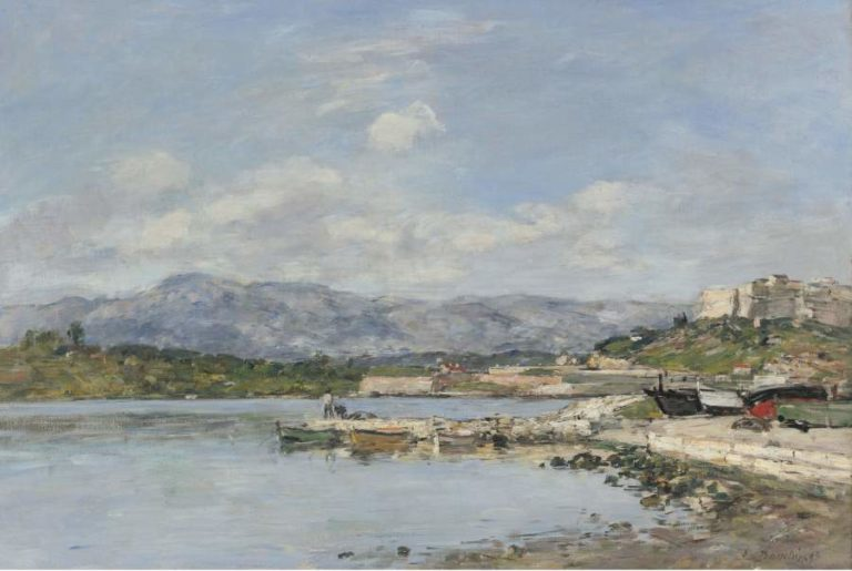 Antibes The Fort Carre 1893 | Eugene Boudin | oil painting