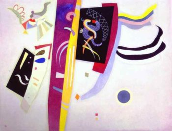 orange violet 1935 | Wassily Kandinsky | oil painting