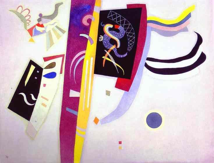 orange violet 1935 | Wassily Kandinsky | oil painting