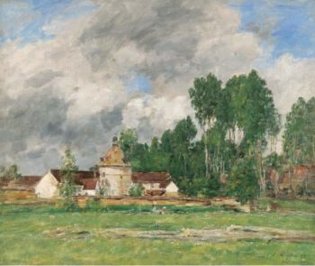 Chartres 1893 | Eugene Boudin | oil painting