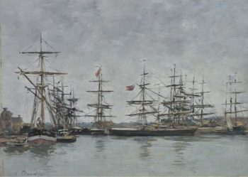 Deauville 1880 85 | Eugene Boudin | oil painting