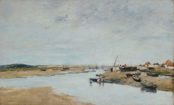 Etaples 1886 | Eugene Boudin | oil painting