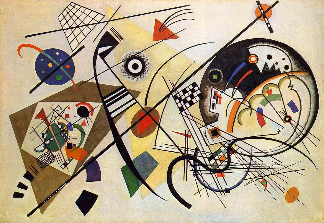 Transverse Lines | Wassily Kandinsky | oil painting